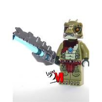 Lego Boneco Crawley Arma - Legend Of Chima - Frete R$5,00