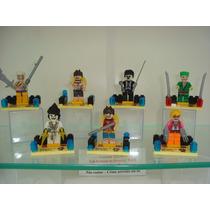 One Piece 7 Bonecos Lego Monkey D. Luffy Brook