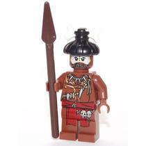 Lego Boneco Canibal 2 Lança - Piratas Do Caribe Frete R$5,00