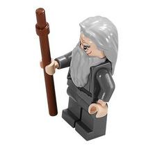 Boneco Lego Gandalf Com Staff Senhor Dos Anéis Lotr 79005