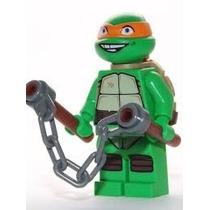 Boneco Lego Tartarugas Ninja Michelangelo (sem Caixa)