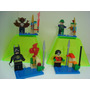 Batman Man Bat O Morcego Humano Robin E Charada Tipo Lego