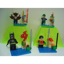 Batman Man Bat O Morcego Humano Robin E Charada = Lego