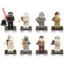 Lego Kit 8 Bonecos Star Wars Despertar Da Força Kylo Ren,rey