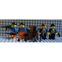 Lego City Polícia Prende Ladrões E Armas - Frete Grátis!!!