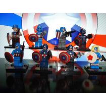 Capitão América Marvel Universe Blocos De Montar Lego Decool