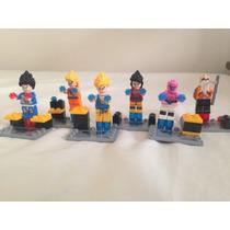 Super Heroes Decool - Dragon Ball Z Dbz - Compatível Lego