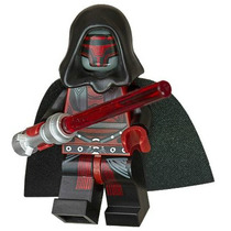 1 Boneco Darth Revan Minifigure Star Wars Compativel Lego
