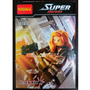 Viuva Negra Black Widow Marvel - Decool Compatível Com Lego
