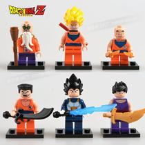 Kit 6 Bonecos Dragon Ball Z - Semelhante Ao Lego