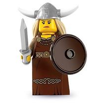 Lego Minifigura Colecionável Série 7- Mulher Viking -lacrado