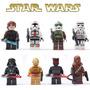 Kit C/8 - Bonecos - Star Wars - Darth Vader - C3po