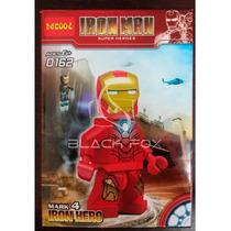 Iron Man Mark 4 Homem De Ferro Decool Compatível Com Lego
