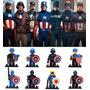 Lego Capitão América Vingadores Minifigures - 8 Bonecos