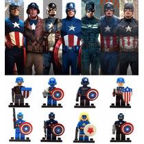 Lego Capitão América - Civil War - Marvel - Coleção Completa