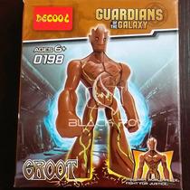 Groot Grande Guardiões Da Galáxia Decool Compatível Com Lego