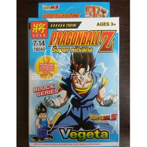 Vegeta Dragon Ball Z Lele Compatível Com Lego