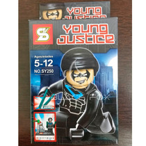 Asa Noturna Do Batman Robin Sluban Compatível Com Lego