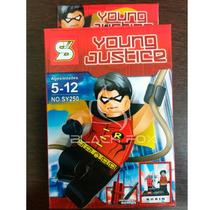 Robin Do Batman Young Justice Sluban Compatível Com Lego