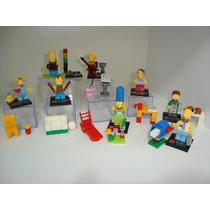 Lego Simpsons Minifigures 8 Bonecos Com Dioramas