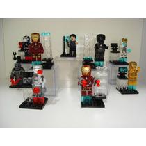 Homem De Ferro Tony Stark Blocos De Montar = Lego