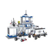 Fuga De Blocópolis Lego City Policial Delegacia Carro Furgão