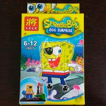 Bob Esponja Spongebob Lele Compatível Com Lego Modelo 2