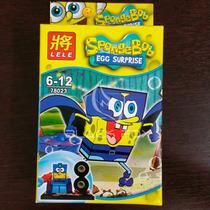 Bob Esponja Spongebob Lele Compatível Com Lego Modelo 4