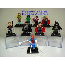 Homem Aranha Homem De Ferro Hulk Thor Batman Superman Lego