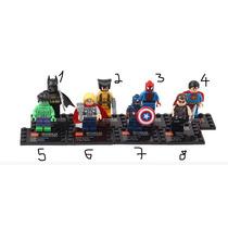 Tipo Lego Super Homem- Homem De Ferro- Batman S Frete Barato