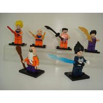 Dragon Ball Z Kit 6 Bonecos De Montar Lego Compatível