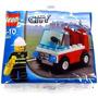 Lego City 30001 - Firemans Chief - Carro Bombeiros
