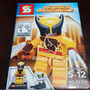 Wolverine Xmen Marvel Sluban Compatível Com Lego