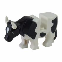 Lego Animais - Cow - Sem Brick/plate No Dorso - 64452pb02c01