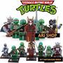 Lego Tartarugas Ninja - Kit 8 Super Heróis
