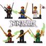 Kit Ninjago Tournament Robes - Lego Compatível
