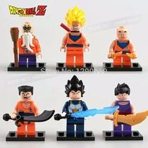 Dragon Ball Z Kai Lego Goku Kuririn Gohan Yancha Mestre Kame