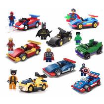 Lego Compatível Super-herói +veículo Vem C/caixa Original