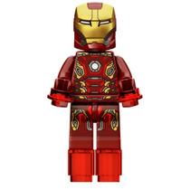 Homem De Ferro Iron Man Mark 45 Lego Compatível Cod. 002 Bbt