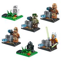 Star Wars Ahsoka Tano R2q5 R8v2 Troppers = Lego