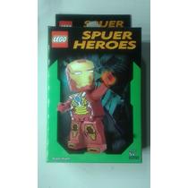 Boneco Lego Homem De Ferro Super Heróis Dc E Marvel