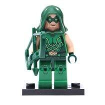 Minifigure Arqueiro Verde ( Compatível Com Lego )