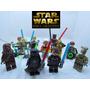 Lego Star Wars Coleção Completa Com 11 Personagens
