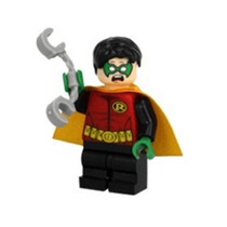 Robin Minifigures Dc Comics Batman Liga Da Justiça Cod 108