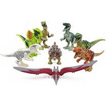 Parque Dos Dinossauros Jurrasic World Lego Compatível