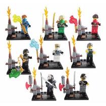Kit Lego Ninjago Ninjas - 8 Bonecos