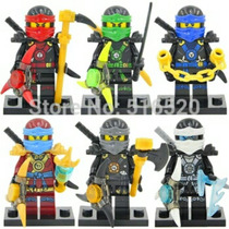 Kit 6 Minifigures Ninjago