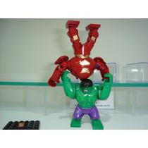 Hulkbuster Iron Man Vs Hulk O Caça Hulk Lego Blocos De Monta