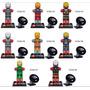Bloco De Montar 8 Pçs Armaduras Iron Man Homem De Ferro