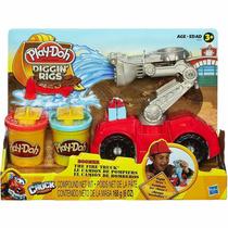 Conjunto Play-doh Chuck Bombeiro - Hasbro